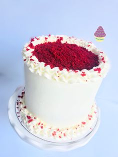 Red Velvet Cake Velvet Cake, Red Velvet, Vanilla Cake, Cakes, Desserts, Food, Pound Cake, Pastries, Red Valvet