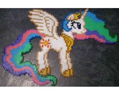 MLP Princess Celestia Hama beads