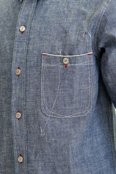 bobimpresa: ZERO chambray shirt