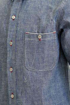bobimpresa: ZERO chambray shirt