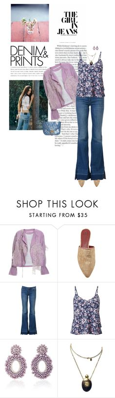 """""""Denim and Prints"""" by sherry7411 ❤ liked on Polyvore featuring Marc, Tory Burch, J Brand, Miss Selfridge, Bibi Marini, Givenchy and Valentino"""