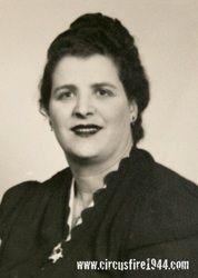 DiMartino, Anna - The Hartford Circus Fire ~ July 6, 1944