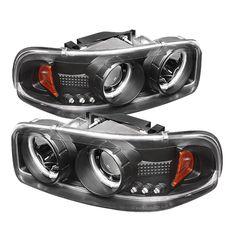 Gmc Yukon /Yukon Xl 2000-2006 Ccfl LED Projector Headlights  - Black