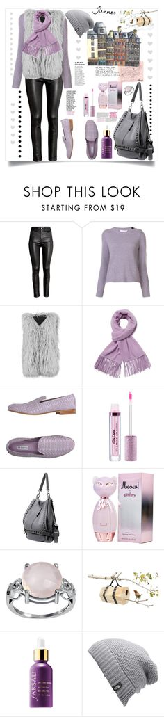 """""""Cold spring wind"""" by natalyapril1976 on Polyvore featuring H&M, Marc Jacobs, Boohoo, Portolano, Fratelli Rossetti and The North Face"""