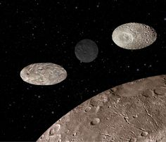 Pluto's Moons Are Flopping Around All Over The Place:  If Pluto were still officially recognized as a planet, it would be considered a part of a binary system. Pluto's moon Charon is so large and so close that the two end up spinning around each other, sharing a gravitational field. That weird-shaped gravitational field causes problems for the smaller moons that orbit the pair.  According to NASA, if you lived on one of Pluto's moons, you'd probably have a hard time figuring out when and where the sun would rise each day.