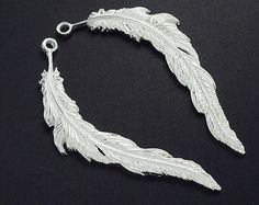Hey, I found this really awesome Etsy listing at https://www.etsy.com/listing/232573137/2-of-925-sterling-silver-feather