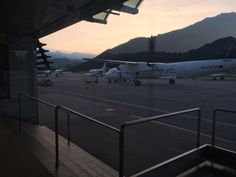 An early flight out of Lugano. The last length of the journey for a Silent Traveler in Lugano.