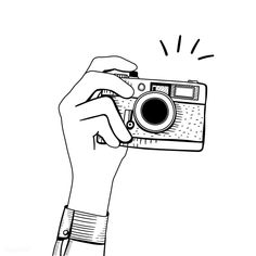 photo editing,photo manipulation,photo creative,camera effects Doodle Drawings, Art Drawings Sketches, Doodle Art, Cute Drawings, Camera Sketches, Camera Drawing, Camera Clip Art, Camera Icon, Camera Doodle
