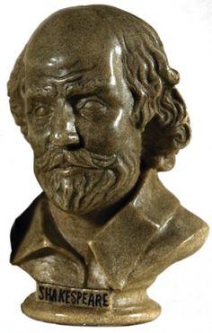 SHAKESPEARE, William. Bust of Shakespeare.  [c.2000].