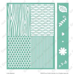 Cricut Cuttlebug™ Embossables Pattern Folder and Icon Folder, In the Meadow