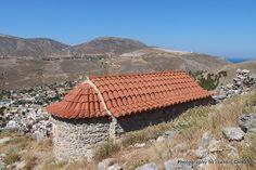 Timios Stavros Church in Chora Castle on the island of Kalymnos Greek Islands, Kos, Outdoor Blanket, Castle, Beach, Greek Isles, The Beach, Beaches, Forts