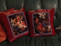 Xmas pillows tell the true story