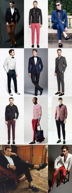 Men's Dress Slippers Lookbook