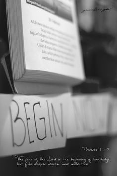 begin everyday with His word, Let God lead your way :D