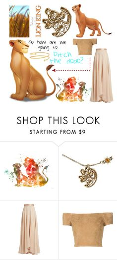"""""""Nala"""" by patronus-moony-padfoot ❤ liked on Polyvore featuring Disney, Lanvin, Alice + Olivia, Arme De L'Amour, disney and lionking"""