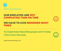 Our employee are not completing task on time. Try Google Keep to keep track of each task easily. Google Keep, Keep Track, App Development Companies, Android Apps, Technology, How To Plan, Business, Tech, Tecnologia