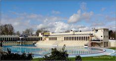 Bruay Labuissière : Le Stade Parc et la Piscine. Art Deco.