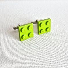 LEGO Bricks Cufflinks Cuff Links Wedding Groom Groomsmen Fathers Day Gift From Daughter