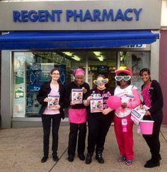 Wear it Pink at Regen'ts Pharmacy!