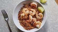 The Crispy Shrimp and Noodle Dish Designed for Weeknights   Bon Appetit