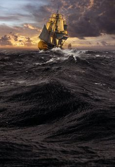 Until the Sea Shall Give Up Her Dead (A Charles Hayden Novel) UK by Sean Thomas Russell. Moby Dick, Old Sailing Ships, Pirate Art, Scenery Pictures, Ship Paintings, Nautical Art, Navy Ships, Fantasy Landscape, Ship Art