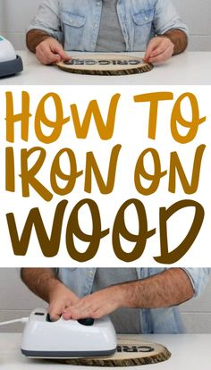 If you're looking for tips and tricks on how to perfectly iron on wood this tutorial will definitely help you out. If you're looking for tips and tricks on how to perfectly iron on wood this tutorial will definitely help you out. Tips And Tricks, Mason Jar Crafts, Mason Jar Diy, Fun Craft, How To Craft, Crafty Craft, Cricut Craft Room, Cricut Tutorials, Cricut Ideas