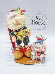 Cornish Pixie, Fun Crafts, Santa, Felt, Teddy Bear, Polymers, Dolls, Handmade, Ideas