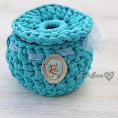 Interior basket 🐳 ideal for small bath accessories 🐳in my favorite #tiffany color 🐳 #интерьернаякорзина 🐳 идеальный вариант для хранения приятных мелочей 🐳 ручная работа 🐳выполнена из ленточной пряжи 🐳 #baxbau_knitting #handmade #ручнаяработа #вязание #вязанаякорзинка #интерьер #vsco #vscoknit #knitting #knitaddict #knitaholic #knitting #crochet #knitstagram #knittersofinstagram #l4l #инстадети #инстамама #стиль #уют #интерьерныештучки #вязаниеназаказ #вяжутнетолькобабушки #масленица