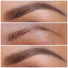 Brow Before and After ❤️