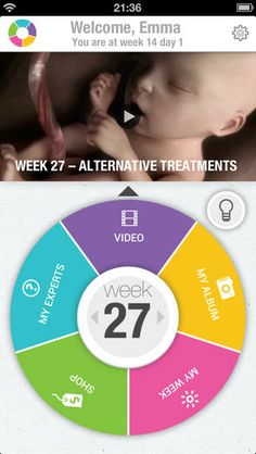 Totally Pregnant App - one of the best we've seen for moms-to-be.