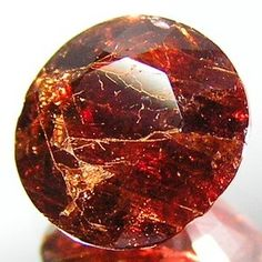 Painite, the rarest gem mineral on earth.