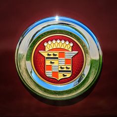 Cadillac Emblem - Car Images by Jill Reger
