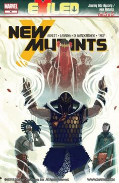 New Mutants #43 The Asgardians are depowered and the only thing standing between them and certain death are the New Mutants! Will the team find a way to repower the Asgardians or die trying?