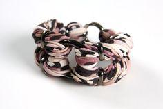 Bracelet Womens Cuff Jewelry  Coco Leopard Print w/ by necklush