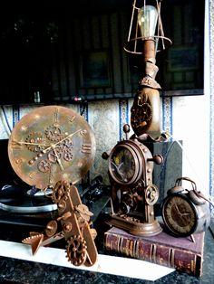 стимпанк .. авторские предметы для декора интерьера steampunk