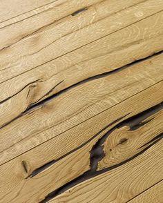 Natural wood floor with exceptionally spectacular surface appearance and a haptic experience. Engineered Hardwood Flooring, Hardwood Floors, Natural Wood Flooring, Floor Cloth, House Painting, Natural Oils, Barn Wood, Interior, Surface 2