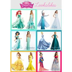 Every girl has a favorite Disney princess that they have always adored! What if we told you that this year at prom you can look like a modern day version of your favorite Disney beauty?! Well, you totally can! We have found the perfect dress matches that will make you feel like the prom princess you deserve to be!   #camillelavie