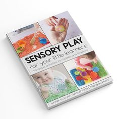 Sensory play for your little learners ebook by Casey Patch. 50 sensory play ideas for babies and toddlers Infant Activities, Learning Activities, Activities For Kids, Dramatic Play Area, Baby Painting, Small World Play, Play Based Learning, Sensory Play, Sensory Table