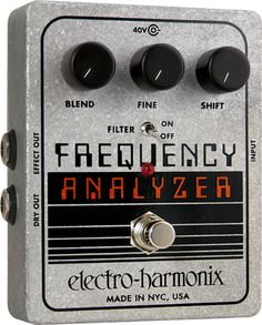 Electro-Harmonix Frequency Analyzer XO Guitar Effects Pedal – Briggs Music Store - The Guitar Cellar