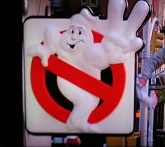 Ghostbusters 2 Sign by Vinny Gragg, via Flickr #Ghostbusters