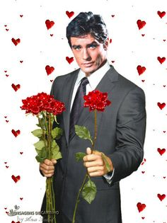 Alain Delon with roses Beautiful Rose Flowers, Beautiful Gif, Beautiful Pictures, Alain Delon, Foto Gif, Amazing Gifs, Popular Girl, Gif Pictures, Red Roses