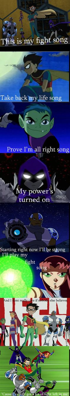 Teen Titans Fight Song by NinJediTurtle