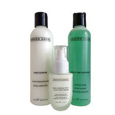 Daily Rituals for Combination Skin-Adrien Arpel Skin Care Cleanser, Moisturizer, Oily T Zone, Color Me Beautiful, Lemon Lime, Combination Skin, Good Skin, Dry Skin, Lotion