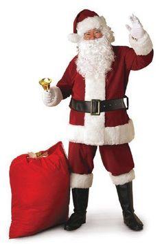 Costume Regal Crimson Santa Suit Costume