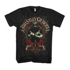 T-Shirts Official Brantley Gilbert Crossed Arms Adult T-Shirt - Country Music Band Rock Rock Shirts, Band Shirts, Tee Shirts, Country Music Bands, Rock And Roll Fashion, Brantley Gilbert, Rocker, Concert Tees, Rock Concert
