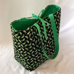 Large Frog Tote Bag @ColleensDesigns Handmade Purses & Bags Handmade Purses & Bags