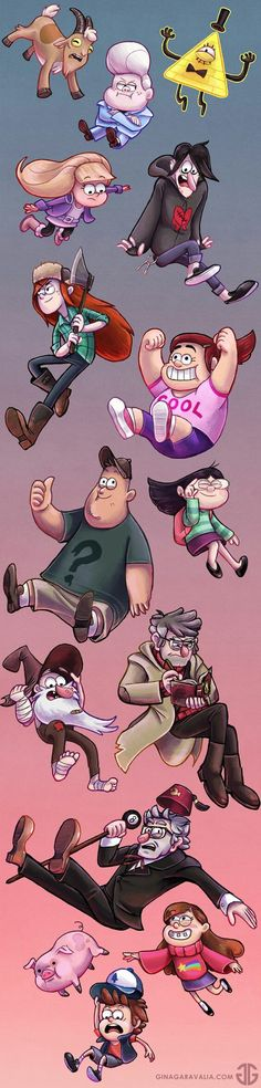 New Wallpaper Phone Disney Gravity Falls Ideas Dipper Et Mabel, Mabel Pines, Dipper Pines, Dipper And Pacifica, Monster Falls, Stanley Pines, Wendy Corduroy, Desenhos Gravity Falls, Gavity Falls