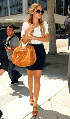 LC. She looks good in anything; wish i was that confident