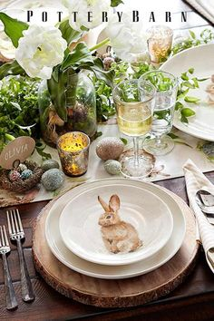 Everybody loves brunch! Set an Easter table to remember with linens and entertaining essentials that showcase the colors of the season.