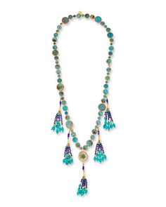 Devon Leigh Rainbow Spike Quartz Necklace CksnpJjI